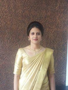 Kerala wedding# Christian bride#Wedding saree