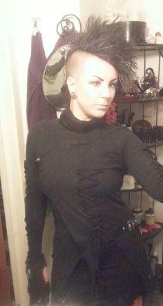 Trezmania wearing Punk Rave top