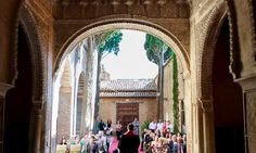 #Wedding at the #Alhambra in #Granada #Spain @Alhambrawedding #weddingplanner We love our work!!