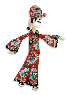 Chinese New Year Decorations, New Years Decorations, Chinese Style, Chinese Art, Wooden Puppet, Chinese Paper Cutting, Shadow Theatre, Shadow Play, Shadow Puppets