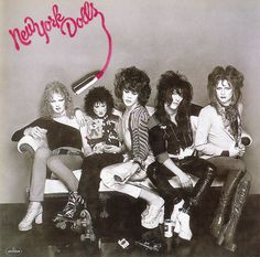 """New York Dolls 1973 """"A band you're going to like; whether you like it or not"""""""