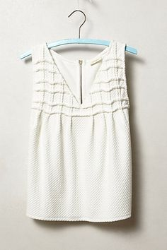 Smocked Swing Tank #anthropologie