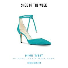 Shoe of the Week: Nine West's Millenio Ankle Wrap Pump 📷 from Nordstrom.com #ShoeLove #ShoeAddicts #Fashionista #LaBrogaLadies #NewShoes #TorontoFashion #TorontoStyle #Stylish #ShoeTip #Fashion #Shoes #Shoe #ShoeLover #ShoeAddict @Nordstrom Nine West Shoes http://shop.nordstrom.com/s/nine-west- millenio-ankle-wrap-pump-women/4540824