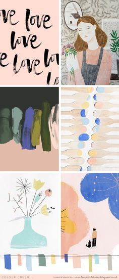 Colour crush (loveprintstudioblog)