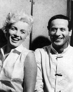 """""""She saw herself drowning in Hollywood in 1955 and told her studio, 'I'm not just wiggling my behind.' Marilyn is not any one thing; she's multidimensional. As an actress, she has lots of imitators- but only Marilyn survives."""" Eli Wallach on Marilyn Monroe."""
