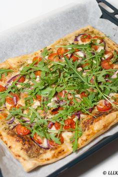 Veggie Recipes, Vegetarian Recipes, Healthy Recipes, Healthy Diners, No Cook Meals, Summer Recipes, Vegetable Pizza, Italian Recipes, Food Inspiration