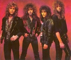 80s bands | Published July 11, 2009 at 600 × 507 in hair bands of the '80s