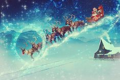 Free Christmas Pictures & Images In HD - Pixabay Days Until Christmas, Nightmare Before Christmas, Christmas Time, Santa Chimney, Santa And His Reindeer, Pictures Images, Free Pictures, Santa Claus Story, Christmas Countdown