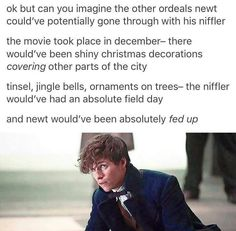 I'm sorry, was Newt not already fed up with PJ? Pretty sure he was.