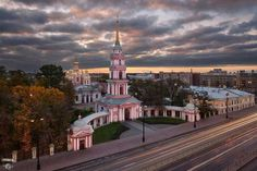 Cossack Church of the Exaltation of the Holy Cross,St Petersburg,Russia.