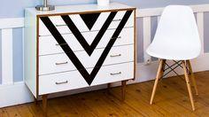 Je relooke mes vieux meubles avec de la peinture