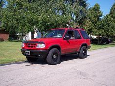 1 Ford Explorer, Trucks, School, Cars, 4x4 Trucks, Blue Prints, Truck