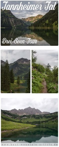 Drei Seen Tour   Tannheimer Tal   Vilsalpsee - Landsberger Hütte
