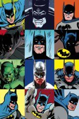 The Faces of Batman by