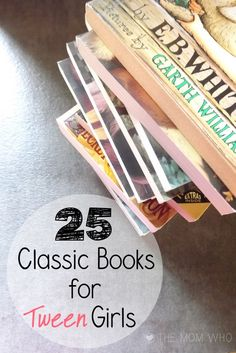 a list of classic novels for you to share with your teen. I loved reading these and my girls have too. Some of their all-time favorite books are in this list.