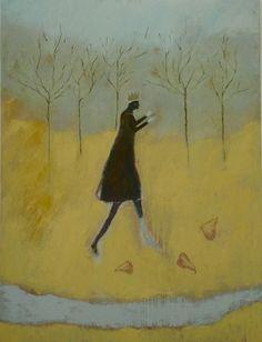 title unknown ~ oil (?) ~ by jeanie tomanek