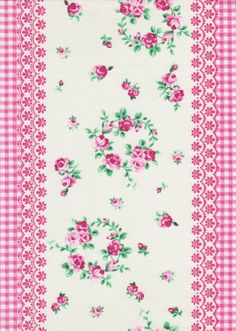 Flower Sugar fabric by Lecien