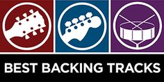 Best backing tracks for guitar, bass, and drums.