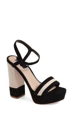Topshop 'Laker' Platform Sandal (Women)
