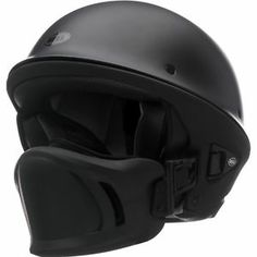 harley matte black | Details about Bell Rogue Flat Matte Black Motorcycle Harley Chopper ...