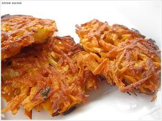 Sweet Potato Latkes With Sour Cream Dip | Divine Baking