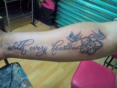 Viva la Tinta Tepito tattoo