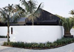 The Bower Studios Byron Beach, Palm Beach, Cottage Windows, Mcm House, Stone Bath, Limestone Flooring, Timber Cladding, Built In Seating, Luxury Accommodation