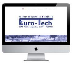Webdesign Eurotech Anlagenbau Web Design, Electronics, Design Web, Website Designs