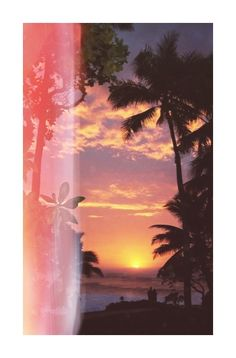 summer MY EDIT paradise beach waves palm trees sunset tropical summer blog tropical blog