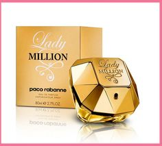 Un perfume de gran presencia. Dulce, seductor y con una gran permanencia.  Una apuesta segura para la noche... www.losperfumesdemujer.com/paco-rabanne-lady-million