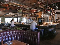 Buck Rider In Phoenix Has An Eclectic Interior Arizona Seafood Restaurantphoenix