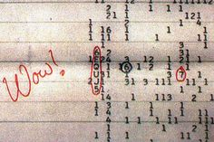 Объяснено происхождение внеземного сигнала Wow!: Космос: Наука и техника: Lenta.ru