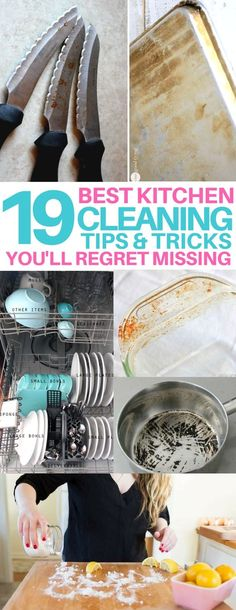 19 Kitchen Cleaning Hacks to Feel Like a Pro