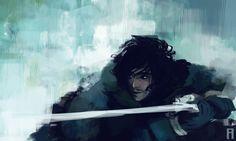 Lord Snow by Merry Zazoue