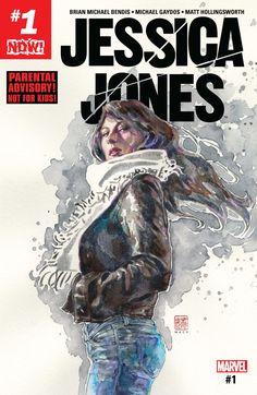 Jessica Jones (2016) #1 #Marvel @marvel @marvelofficial #JessicaJones (Cover Artist: David Mack) Release Date: 10/5/2016