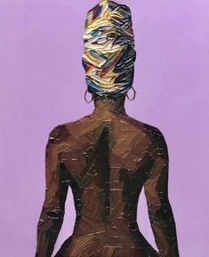 Art Auctions for Drawings – Viral Gossip Black Love Art, Black Girl Art, Art Girl, Black Art Painting, Black Artwork, African American Art, African Art, Posca Art, Magic Art