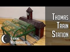 DIY Train Station from Thomas the Tank Engine – Life and Relax Wooden Toy Train, Train Table, Thomas The Tank, Outdoor Furniture Sets, Outdoor Decor, Train Station, Woodworking Plans, Engine, Relax