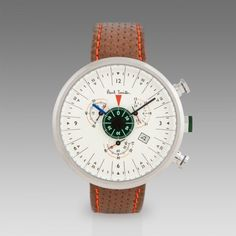 Paul Smith Watches - Cream Cycle Eyes Chronograph #watch