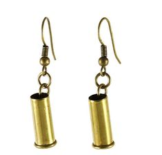 I could totally make these! There's Nothing Sexier Than A Lady With Bullets In Her Ears.