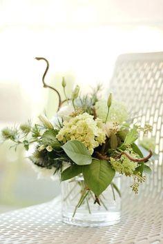 ... Flower Arrangements With Hydrangeas And Roses White Floral Arrangement Flower Arrangements With Hydrangeas For A Wedding ...