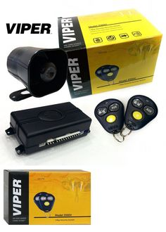 Car Alarms and Security Systems: Viper 3100V One Way Car Security Alarm System W 2 Remotes Shock Sensor Siren New -> BUY IT NOW ONLY: $47.67 on eBay!