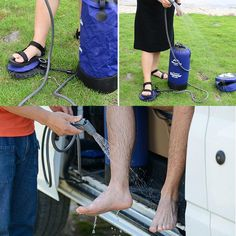 Portable and Inflatable Outdoor Camping Shower Portable Outdoor Shower, Laser Welding, Car Boot, Water Tank, Water Water, Water Pipes, Pumps, Boots, Eco Friendly