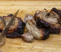 κοντοσούβλι - κόψιμο σε ξύλο Greek Recipes, New Recipes, Easter Recipes, Allrecipes, Lamb, Steak, Grilling, Pork, Turkey