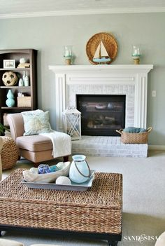 a seaside retreat in your home...so simple.