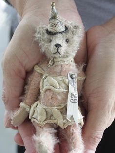 a lovely little teddy from Letty's Bears....