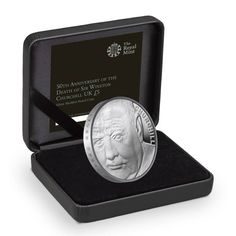 Only 2000 impressive £5 silver Piedfort £5 coins available to honour the great Sir Winston Churchill