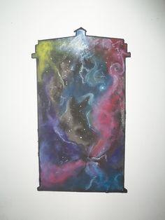 Tardis Galaxy Canvas