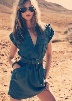 Safari Dress.