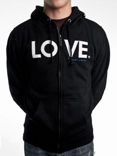 #zambooie.com             #love                     #Write #Love #Arms #Store #LOVE #Applique #Unisex #Hoodie #Black              To Write Love On Her Arms Store - LOVE Applique Unisex Zip Hoodie Black                                 http://www.seapai.com/product.aspx?PID=1553383
