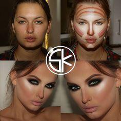 How To Beauty: NEW MAKE UP INSPIRATION by samerkhouzami